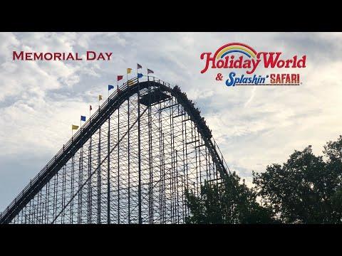 Holiday World Memorial Day VLog