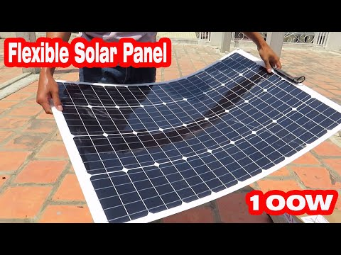 Review 100W Flexible solar panel From Banggood