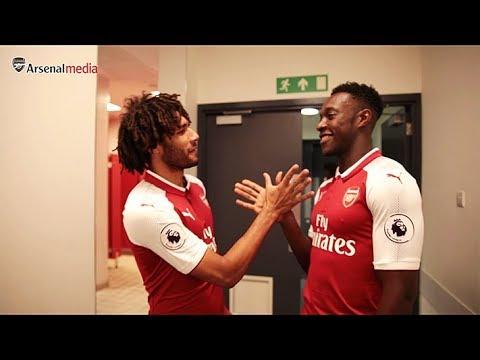 Welbeck and Elneny's new handshake | Members' Day 2017