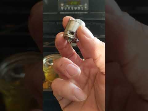 6 Minute Puffco Atomizer Clean