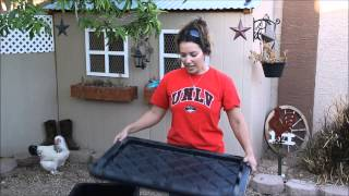 Easy backyard compost! Video #1