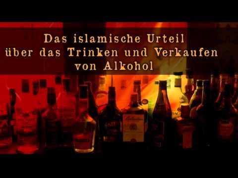 Das islamische Urteil über das Trinken & Verkaufen von Alkohol