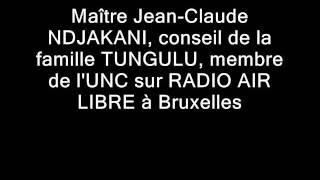 UNC sur RADIO AIR LIBRE avec JC NDJAKANI 1ère Partie.wmv