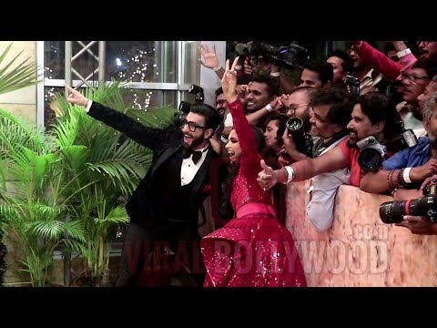 Deepika And Ranveer SEXIEST GRAND ENTRY At Their Mumbai Reception #DeepVeer Rocks