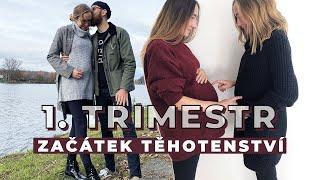 1. TRIMESTR | Nicole | Začátek těhotenství a oznámení rodině