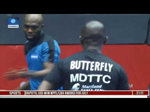 2017 ITTF Nigerian Open: Nigeria Stars Claim Opening Day Wins | Sports Tonight