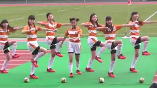 20171228 私立輝女学園KAGAJO☆7 「KickOff」 第23回全国ジュニア・ラグ...