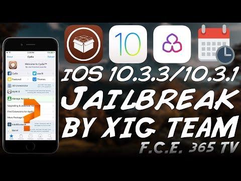 iOS 10.3.3 / iOS 10.3.2 JAILBREAK by XIG CONFIRMED RELEASE DATE