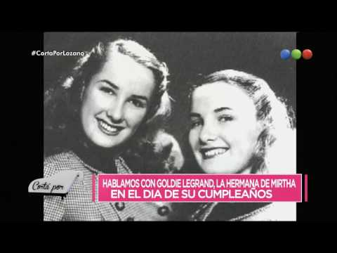 ¡Exclusivo! Vero habló con Goldie Legrand en su cumpleaños - Cortá Por Lozano