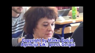 e-GIMNAZIJA GOSPIĆ ©Marko Čuljat Lika press www.licke-novine.hr Lička televizija Gospić LTVG