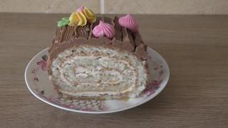 торт Сказка/торт-рулет