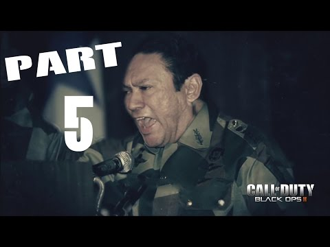 Call of Duty: Black Ops 2 Walkthrough Gameplay Part 5 - Manuel Noriega