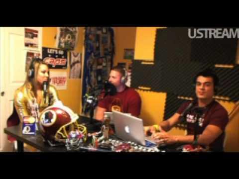 Sports Evolution Radio - Redskin, Nick Sundberg & Darwin Navarrete w/ instudio guest RG3 Woman