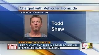 Todd Shaw arrested in fatal Union Township hit-and-run