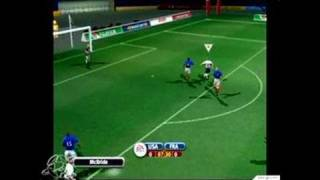 2002 FIFA World Cup GameCube Gameplay - USA vs. France