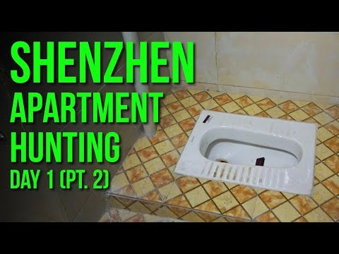Shenzhen APARTMENT HUNTING (China) Day1- Part 2