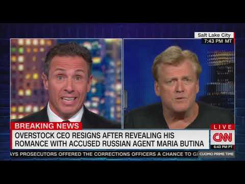 Overstock CEO gave info to DOJ for John Durham's review of Russia investigation origins