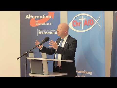 Video: Treffen der Christen in der AfD (ChrAfD) Nordost mit der Landtagsfraktion der AfD in Brandenburg