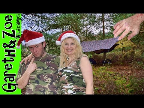 Stealth Winter Wild Camp and a Weird Discovery! - Gareth&Zoe Wildcamps