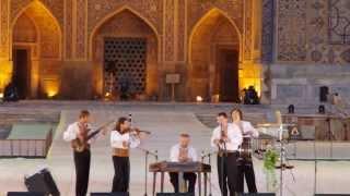 uzbekistan ウズベキスタン サマルカンド国際音楽祭の風景