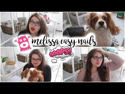 Oups... Ça tourne ! Petit Bêtisier | Melissa Easy Nails