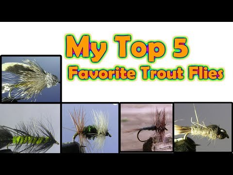 🎣 The 5 Best Flies For Trout (In My Opinion) My Favorite Fly Fishing Flies