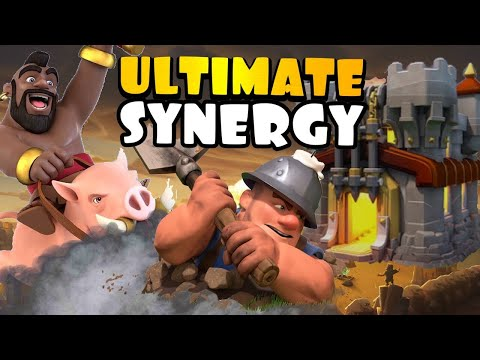 THIS CAN BEAT ANY BASE! TH11 Queen Charge Hog Miner Hybrid   Best TH11 Attack Strategies in CoC