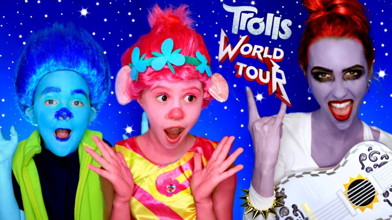 Download Trolls 2 Barb Turns Poppy and Branch into Rock Zombies