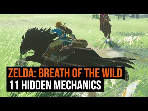 11 hidden mechanics Zelda Breath of the Wild never tells you about