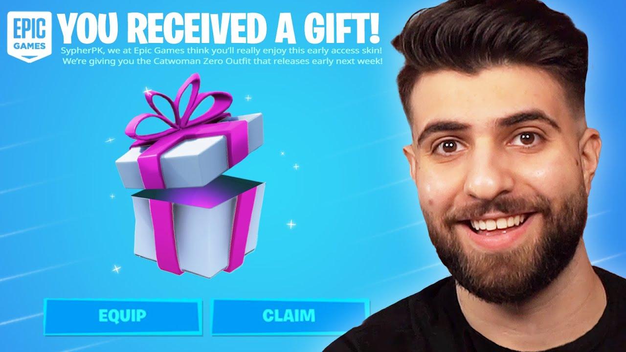 Fortnite Sent Me a Secret Gift!