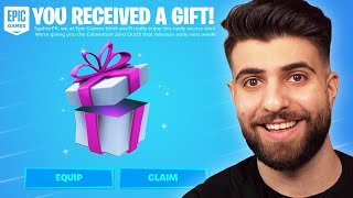 Fortnite Sent Me a Secret Gift!