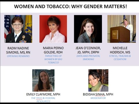 TFCCI Presents -  Women and Tobacco: Why Gender Matters!