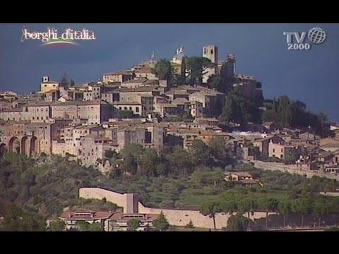 Amelia terni borghi d 39 italia tv2000 youtube for Be italia