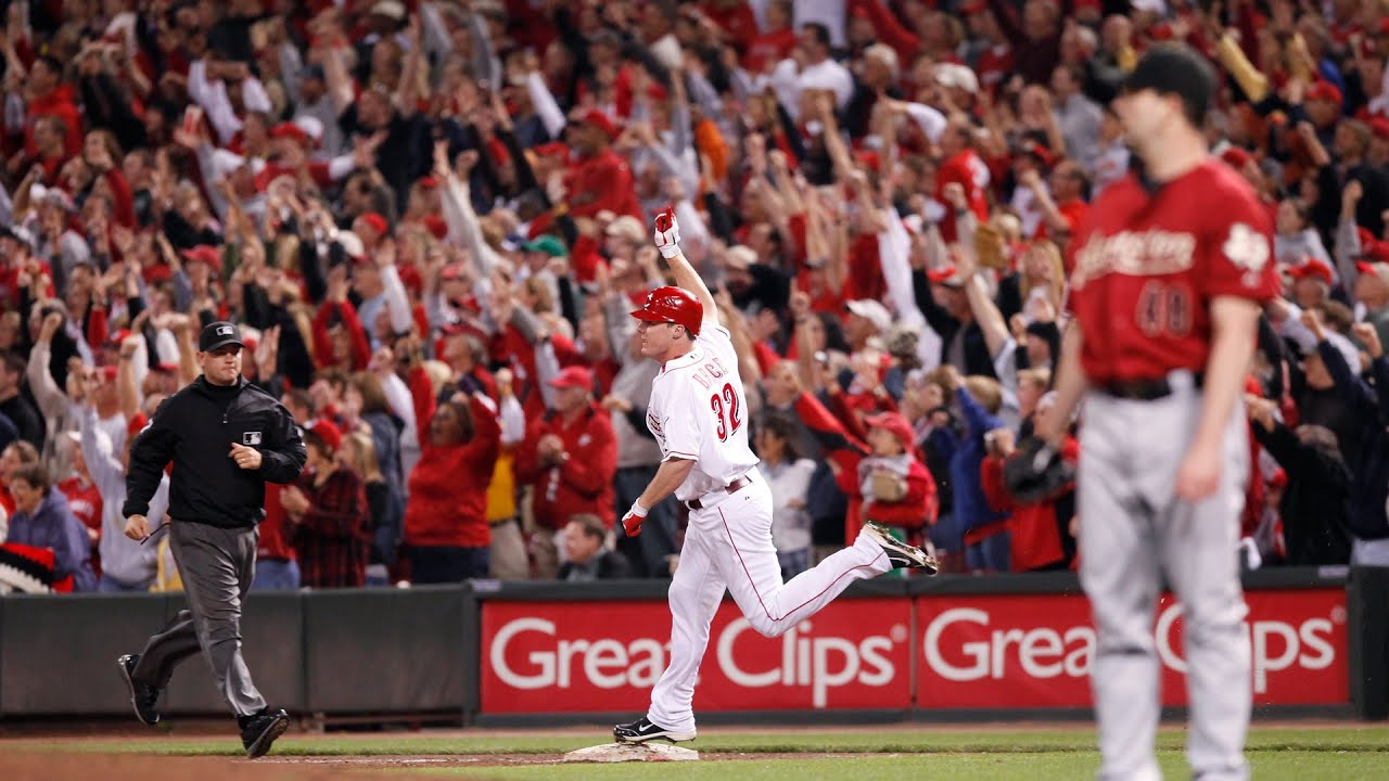 Jay Bruce on his 2010 NL Central clinching homer
