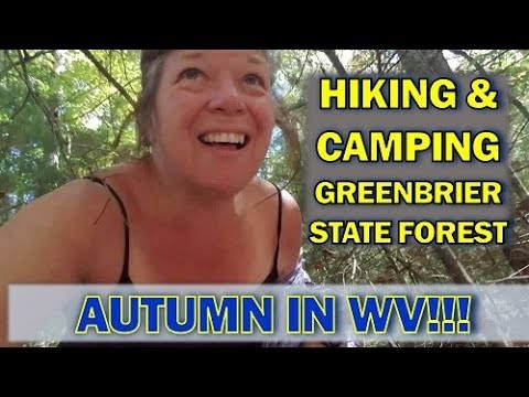 It's Fall in WV at Greenbrier State Forest Campground!