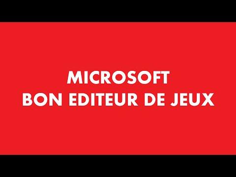 Microsoft ,un bon éditeur de jeux vidéos PC - VLOG