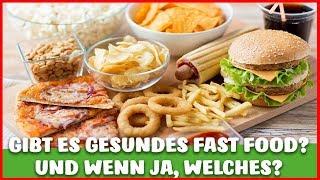 Gesundes FAST FOOD - Gibt es das? MEINE TOP 3 FAST FOOD ALTERNATIVEN