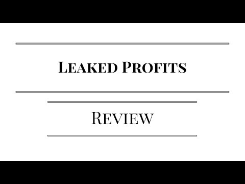Leaked Profits Review - Watch This Before You Invest In Leaked Profitsf