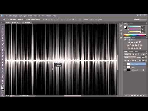 photoshop music equalizer (waves) : adobe creative cloud - tutorial