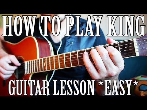 """How to Play """"King"""" by XXXTentacion on Guitar *FOR BEGINNERS*"""
