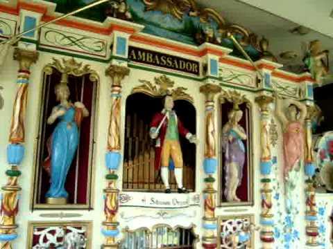 Larry Kern's AMBASSADOR Stinson Concert Band Organ Plays Florentiner Marsch