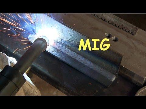 Mig Welding Techniques Tested