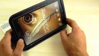 """Обзор: Эксклюзивный Кожаный Чехол """"Yoobao"""" для Samsung N5100 Galaxy Note 8.0"""