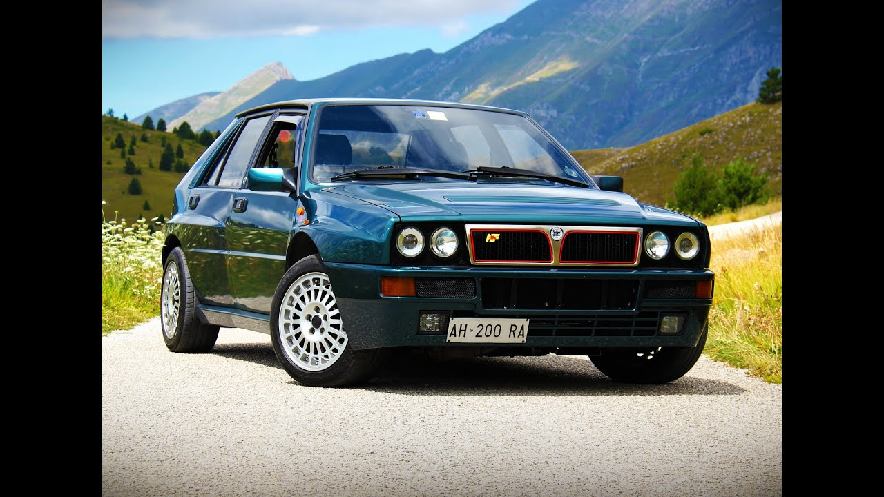 lancia delta hf integrale evoluzione davide cironi drive experience eng subs youtube. Black Bedroom Furniture Sets. Home Design Ideas