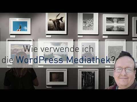 WordPress Wie lade ich Bilder in die Mediathek hoch - Tutorial Deutsch / German thumbnail