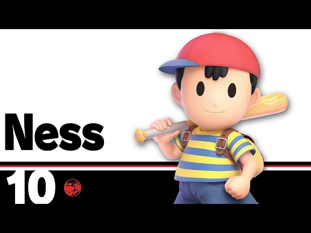 Super Smash Bros  Ultimate Character Profiles: Ness | Shacknews