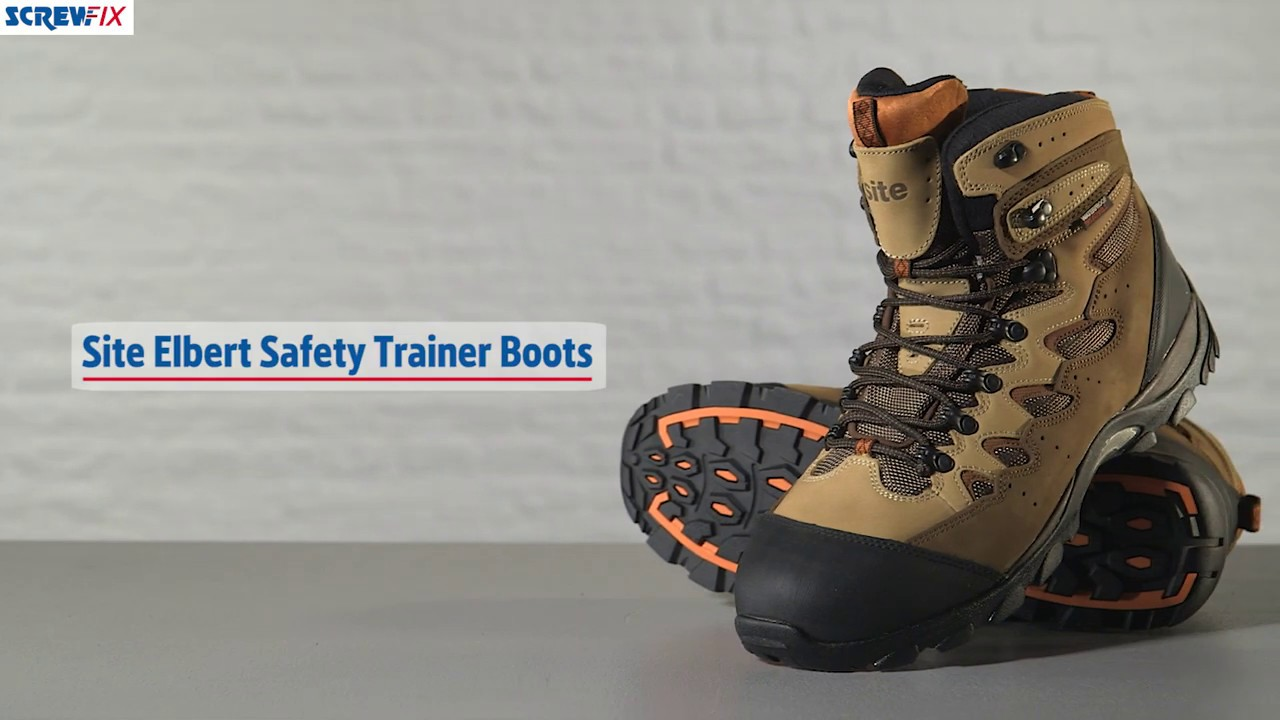 05375e58da3 Site Elbert Safety Trainer Boots | Screwfix