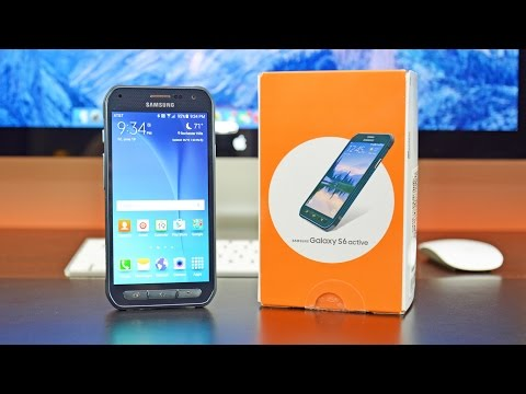 Samsung Galaxy S6 Active: Unboxing & Review