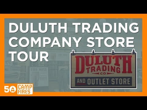 Duluth Trading Company : Store Tour
