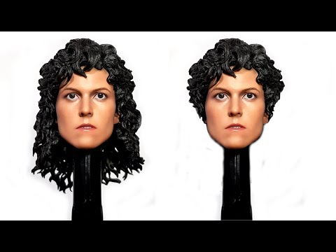 HOT TOYS ALIEN RIPLEY. WHAT IF YOU MODDED THE HAIR TO LOOK LIKE ALIENS RIPLEY